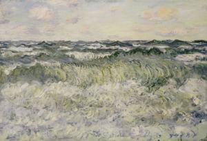 Marine, 1881 by Claude Monet