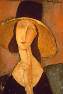 Head Of A Woman by Amedeo Modigliani