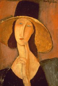 Head Of A Woman by Amedeo Modigliani
