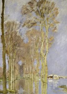 Flood by Claude Monet