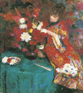 Le Kimono by Ernst Jean Joseph Godfrinon