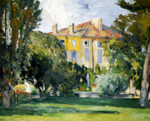 The House At Jas De Bouffan, 1882 by Paul Cezanne