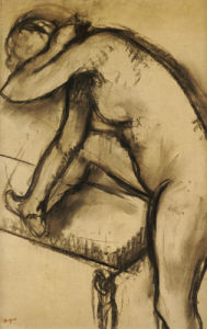 Study Of A Dancer by Edgar Degas