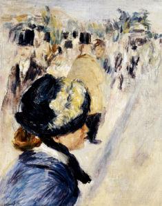 La Place Clichy, Circa 1880 by Pierre Auguste Renoir