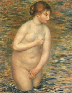 Nude In The Water, 1888 by Pierre Auguste Renoir