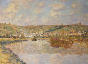 End Of The Afternoon, Vetheuil by Claude Monet