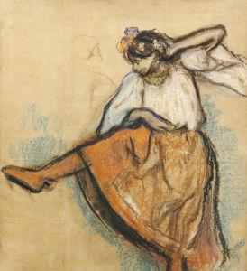 The Russian Dancer by Edgar Degas