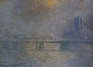 Charing Cross Bridge, The Thames, 1900 by Claude Monet