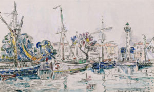 La Rochelle, 1925 by Paul Signac