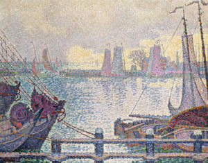 Le Port De Volendam, 1896 by Paul Signac