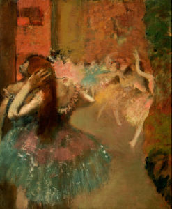 Scene De Ballet Or Balleteuses by Edgar Degas