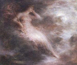 The Queen Of The Night by Ignace-Henri-Théodore Fantin-Latour