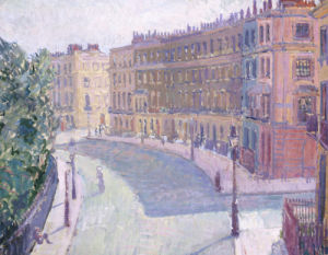 Mornington Crescent, c.1910 (1) by Spencer Gore
