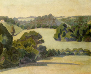West Country Landscape by Robert Bevan