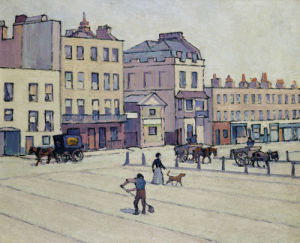 The Weigh House, Cumberland Market, C.1914 by Robert Bevan