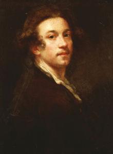 Self-Portrait Of The Artist, Half-Length, C. 1750 by Sir Joshua Reynolds