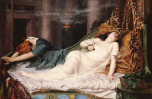 The Death Of Cleopatra 'The Stroke Of Death Etc', 1892 by Reginald Arthur
