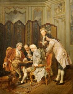 The Backgammon Players, 1866 by Ignacio Leon Y Escosura