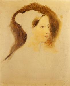 Portrait Of Queen Victoria by Sir David Wilkie
