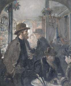 The Nell Gwynne Public House, 1906 by Sir William Orpen