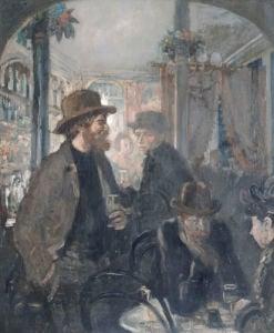 The Nell Gwynne Public House, 1906 by Sir William Orpen