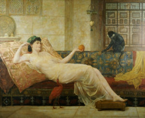 A Dream Of Paradise, 1889 by Frederick Goodall