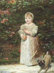Peaches by James Sant