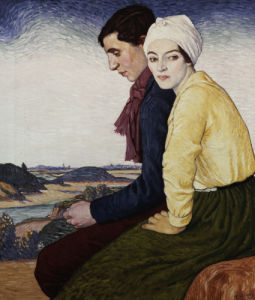 The Meeting Place, 1915 by William Strang