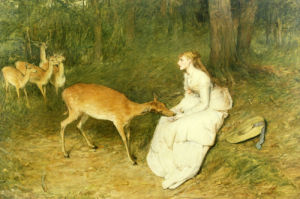 The Forest Pet, 1871 by Sir William Quiller Orchardson