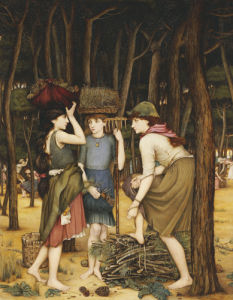 Pine Woods At Viareggio by John Roddam Spencer Stanhope