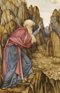 The Vision Of Ezekiel: The Valley Of Dry Bones by John Roddam Spencer Stanhope