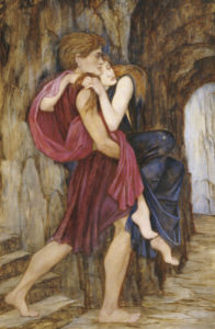 The Escape, C. 1900 by John Roddam Spencer Stanhope