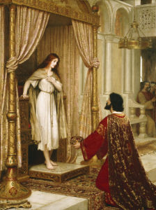A King And A Beggar Maid, 1898 by Edmund Blair Leighton
