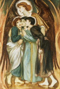 A Protecting Angel by Simeon Solomon