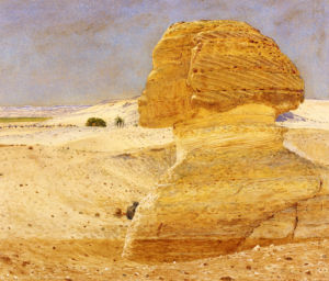 The Great Sphinx At Gizeh, 1862 by George Price Boyce