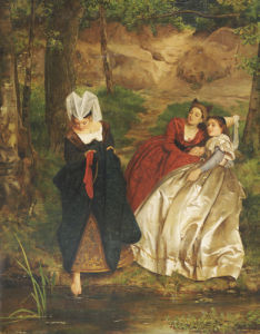At The Stream, 1864 by Philip Hermogenes Calderon