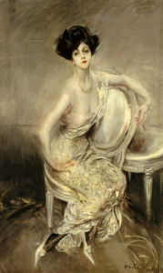 Portrait Of Rita De Acosta Lydig, 1911 by Giovanni Boldini