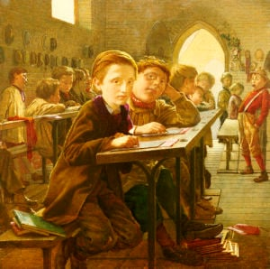 In The Classroom by J Harris