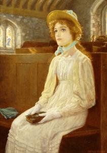 Faith by Arthur Hughes