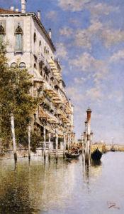 Along The Grand Canal by Rafael Senet