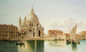 The Santa Maria Della Salute, Venice by William Hickling Burnett