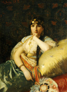 An Oriental Beauty, 1878 by Giovanni Costa