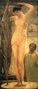 A Sculptor's Model (Venus Esquilina), 1877 by Sir Lawrence Alma-Tadema