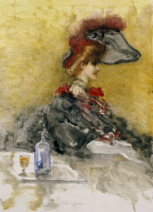Il Capello Rosso Piumato (The Red Feathered Hat) by Pompeo Mariani