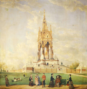 The Albert Memorial, London, 1877 by Edwin Frederick Holt