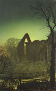 Bolton Abbey by John Atkinson Grimshaw
