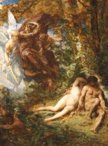 Expulsion From Paradise by Alexandre Cabanel