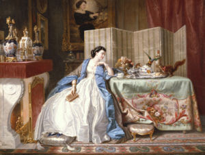 Fireside Distractions by Alphonse Carriere