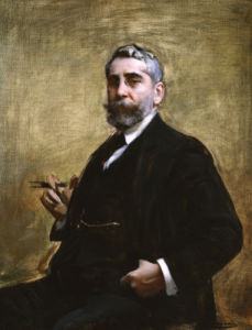 A Portrait Of A Gentleman by Ramon Casas