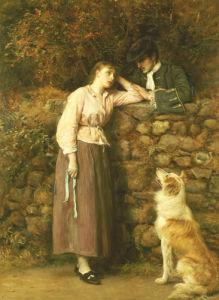 Effie Deans; A Scene From Sir Walter Scott's The Heart of Midlothian, 1877 by Sir John Everett Millais